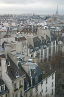 View from the Pompidou Center