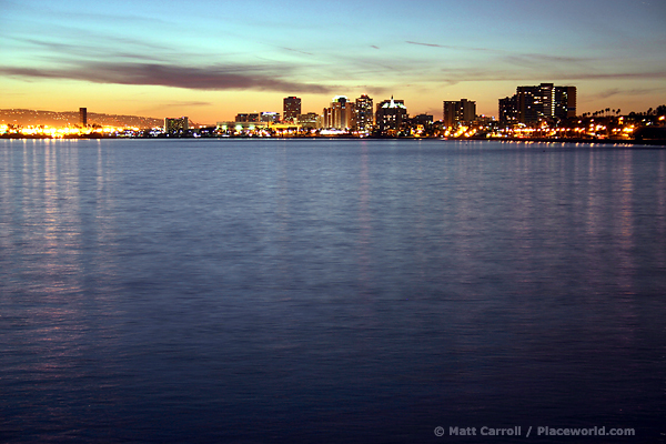Long Beach Skyline