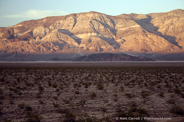 Panamint Range and Valley